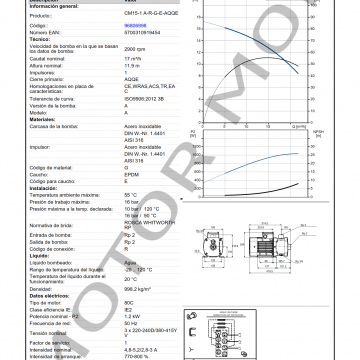 GRUNDFOS CM15-1 ARTICULO 96806998 MOTOR MOB_005