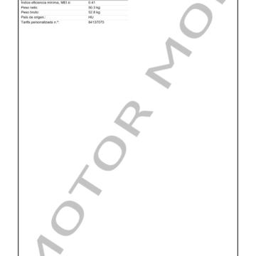 GRUNDFOS CM25-3 ARTICULO 97516668 MOTOR MOB_006