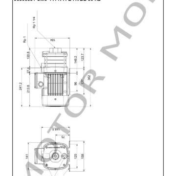 GRUNDFOS CM5-4 ARTICULO 96806831 MOTOR MOB_007