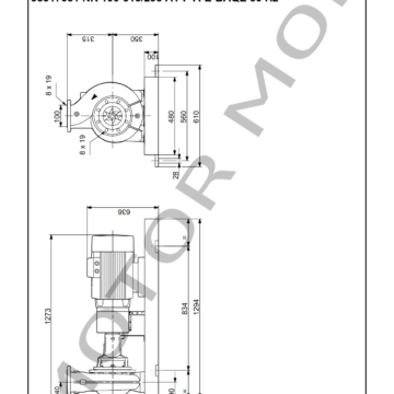 GRUNDFOS NK 100-315295 ARTICULO 98317051 MOTOR MOB_007