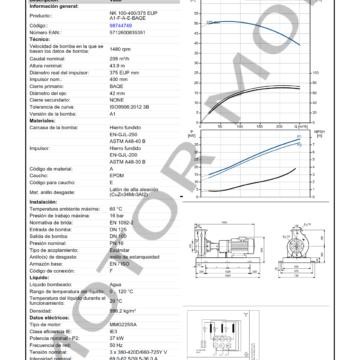 GRUNDFOS NK 100-400375 ARTICULO 98744749 MOTOR MOB_005