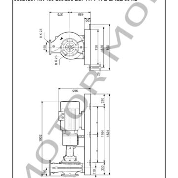 GRUNDFOS NK 150-250235 ARTICULO 98921281 MOTOR MOB_007