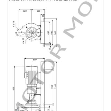 GRUNDFOS NK 40-250255 ARTICULO 97829212 MOTOR MOB_007