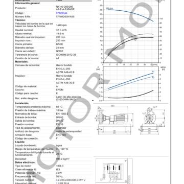 GRUNDFOS NK 40-250260 ARTICULO 97829344 MOTOR MOB_005