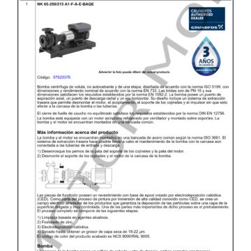 GRUNDFOS NK 65-250215 ARTICULO 97829376 MOTOR MOB_001