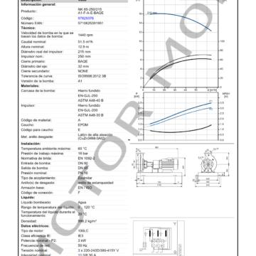 GRUNDFOS NK 65-250215 ARTICULO 97829376 MOTOR MOB_005