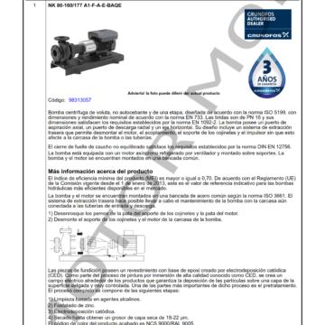 GRUNDFOS NK 80-160177 ARTICULO 98313057 MOTOR MOB_001