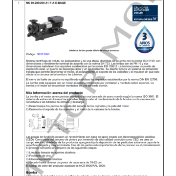 GRUNDFOS NK 80-200200 ARTICULO 98313060 MOTOR MOB_001