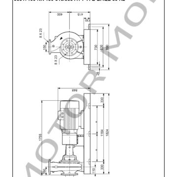 GRUNDFOS NK150-315338 ARTICULO 98317100 MOTOR MOB_007