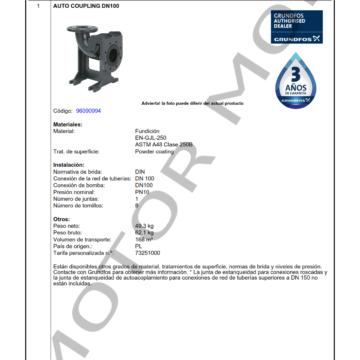 GRUNDFOS DN 100 ARTICULO 96090994 MOTOR MOB_001